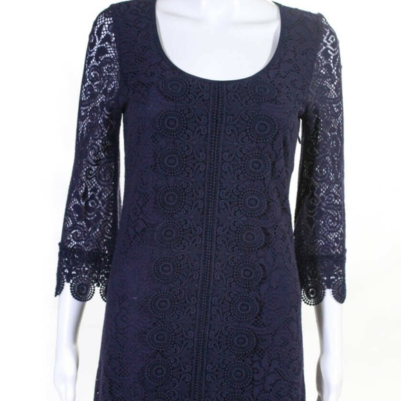 Laundry By Shelli Segal Dresses & Skirts - Laundry Purple Knit Long Sleeve Dress - Size 2